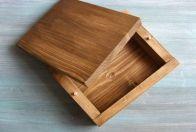 деревянная шкатулка